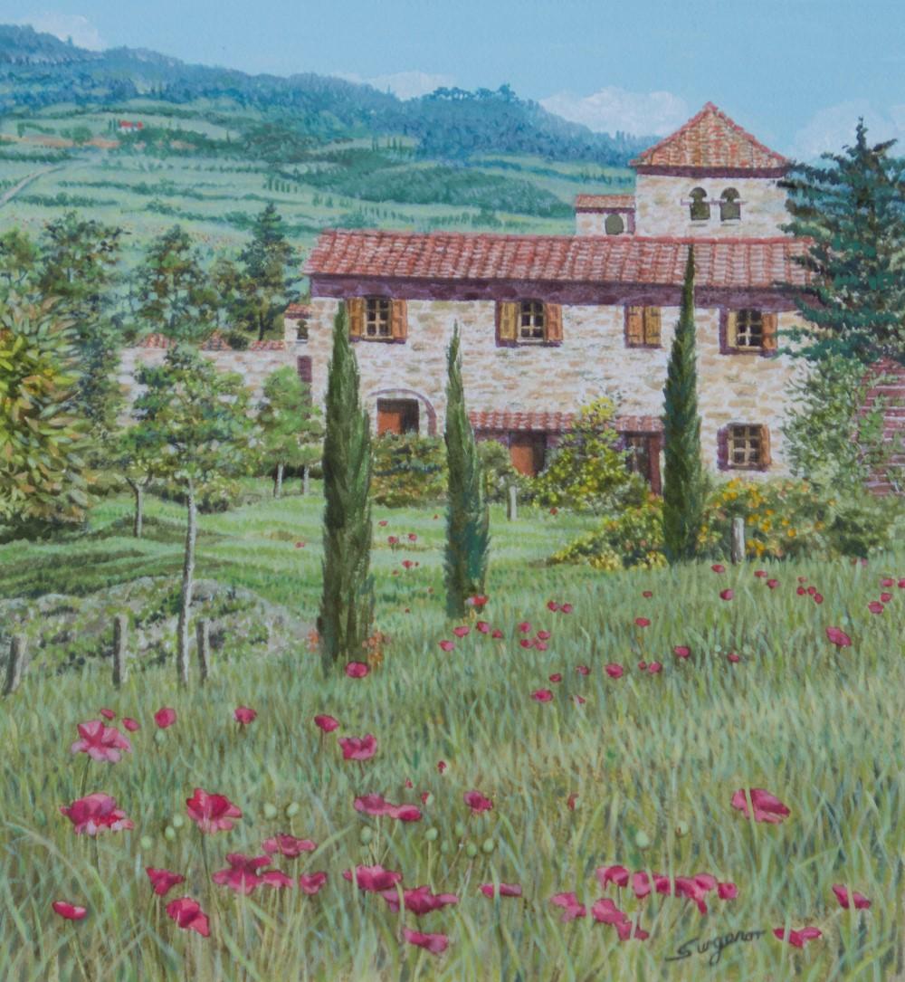 Freda Surgenor - Spring in Tuscany