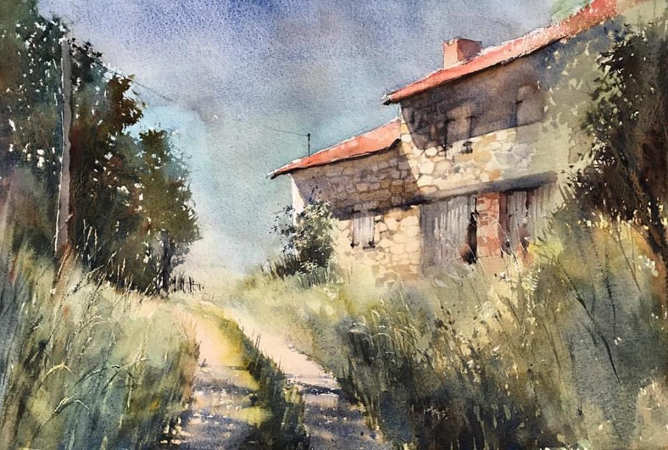 Vladimir Tuporshin - Old Farm Near Village Montepezat
