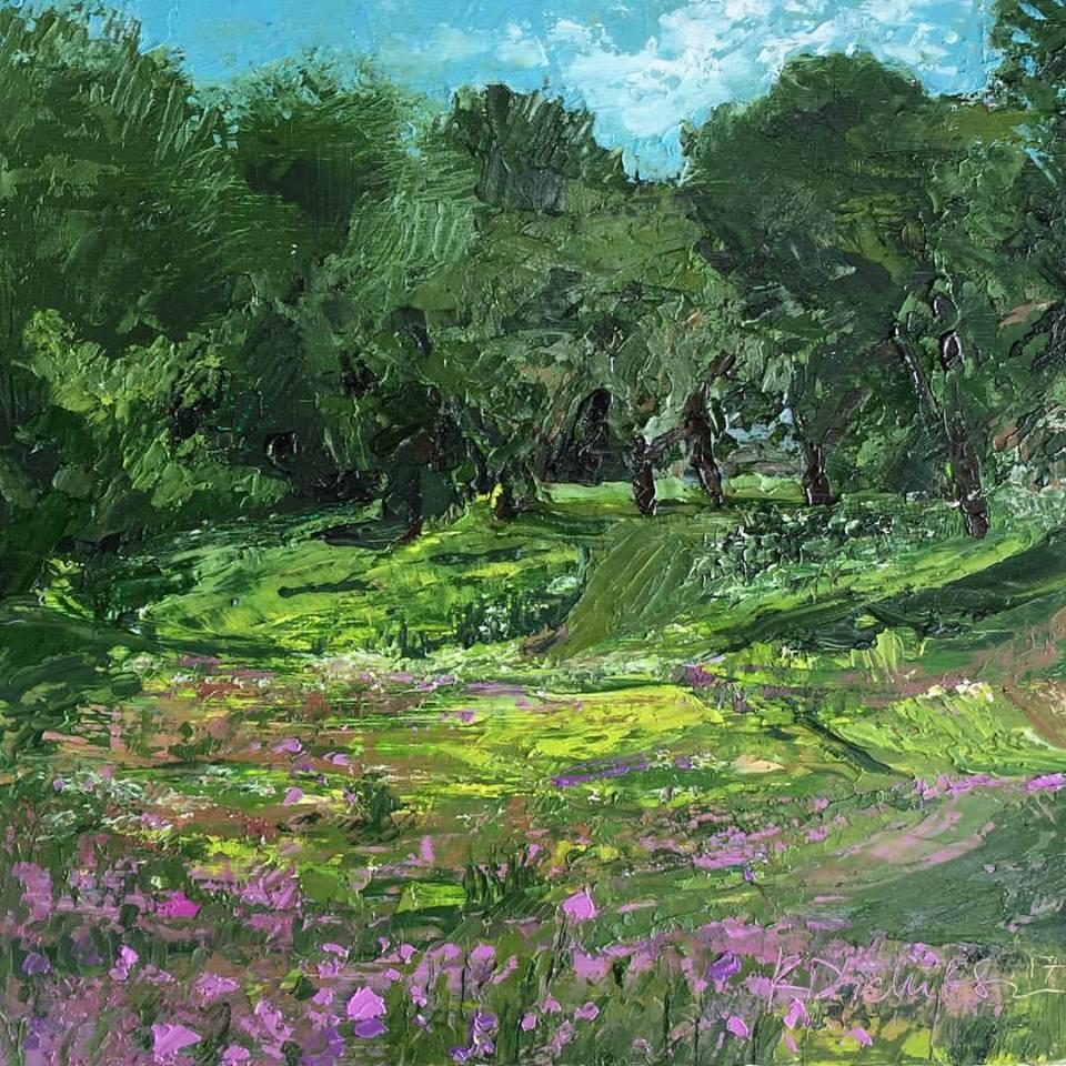 Kayti Didriksen - Summer Field, Maine Audubon