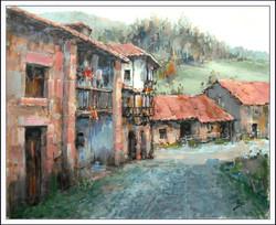 Alex Perez -  Little Street in the Village Carmona (Cantabria- Spain)
