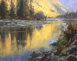 Stacey Peterson - First Light, McDonald Creek
