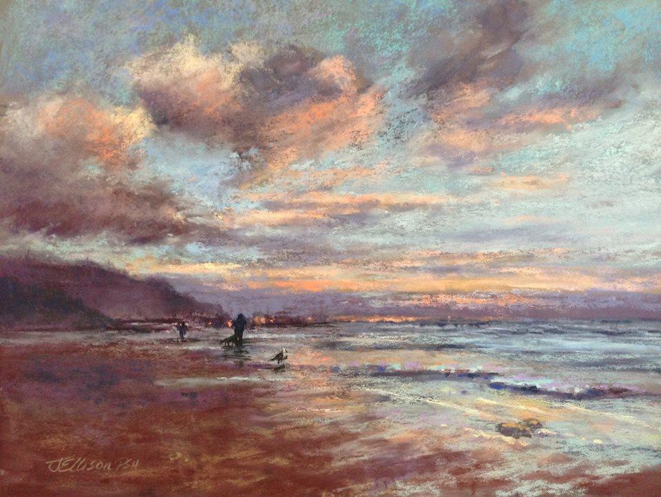 Janis Ellison - Sunset Stroll