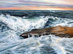 Eileen Patten Oliver - Sunrise on the Back Shore