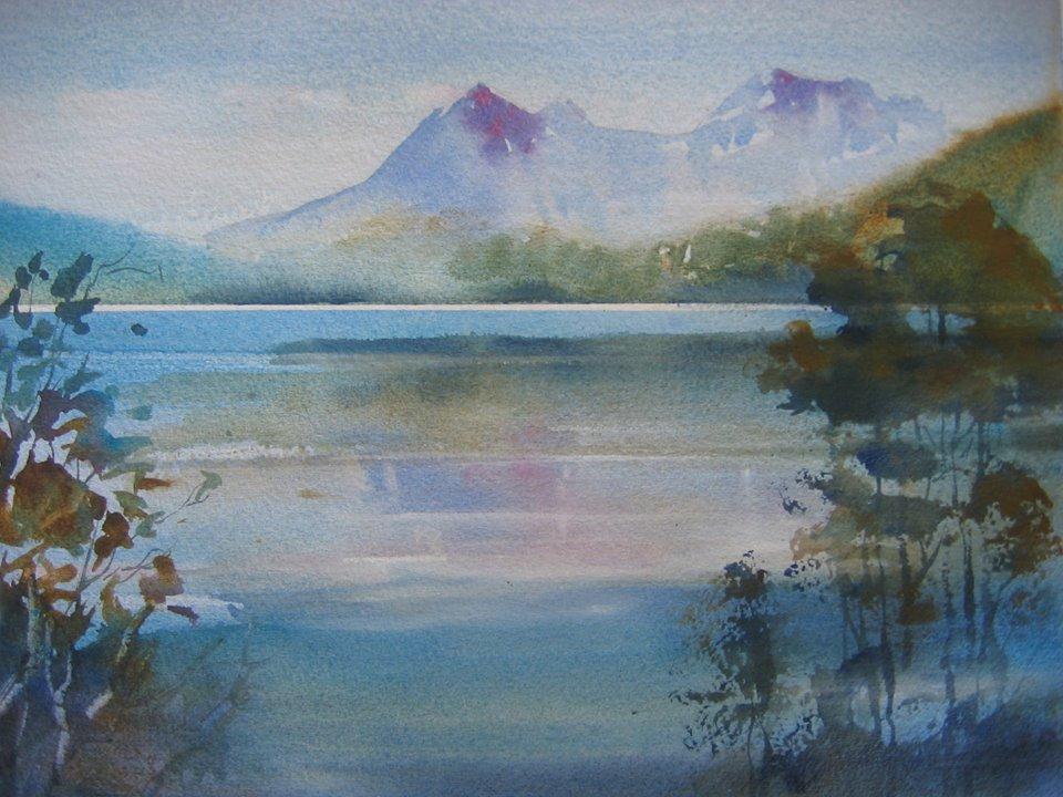Anki Wickison - Cradle Mountain