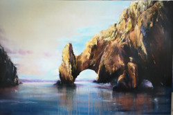 Jane Wright Wolf - Cabo San Lucas, Land's End