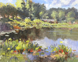 Diane Mannion - Jacaranda Pond
