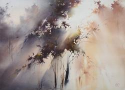 Ilya Ibryaev - Morning Light in the Forest