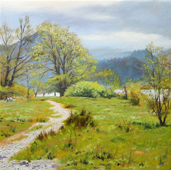 David Barber - The Footpath to Buttermere
