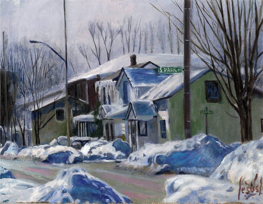 Jesus Estevez - Grey Winter, Moira and S. Park St.