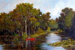 Sharon Repple - Silver River Kayak