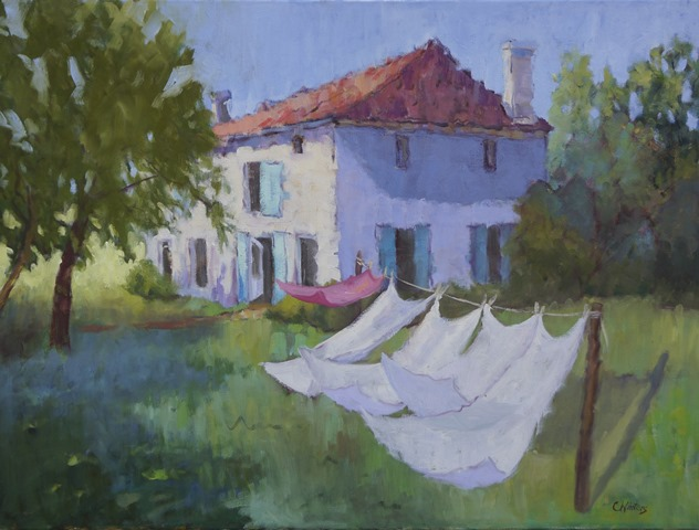 Connie Winters - Line Drying