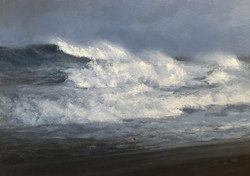 Danny O'Leary - Storm Coming In (oil)