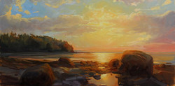 Olena Babak - Wordsworth Cove, Sunset