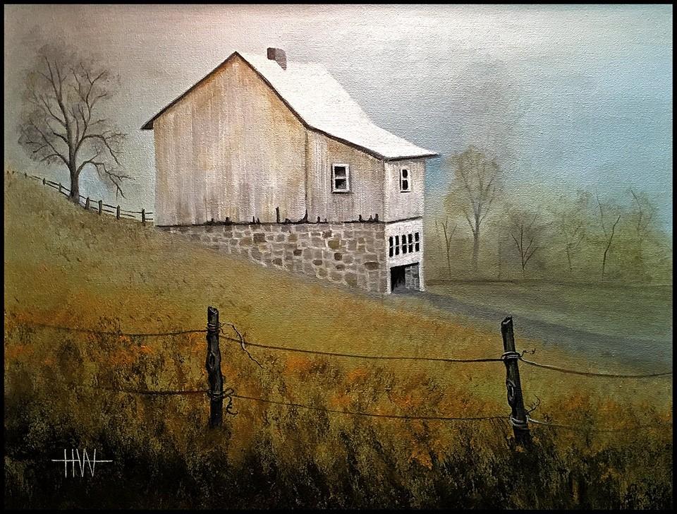 Hub Willson - White Barn