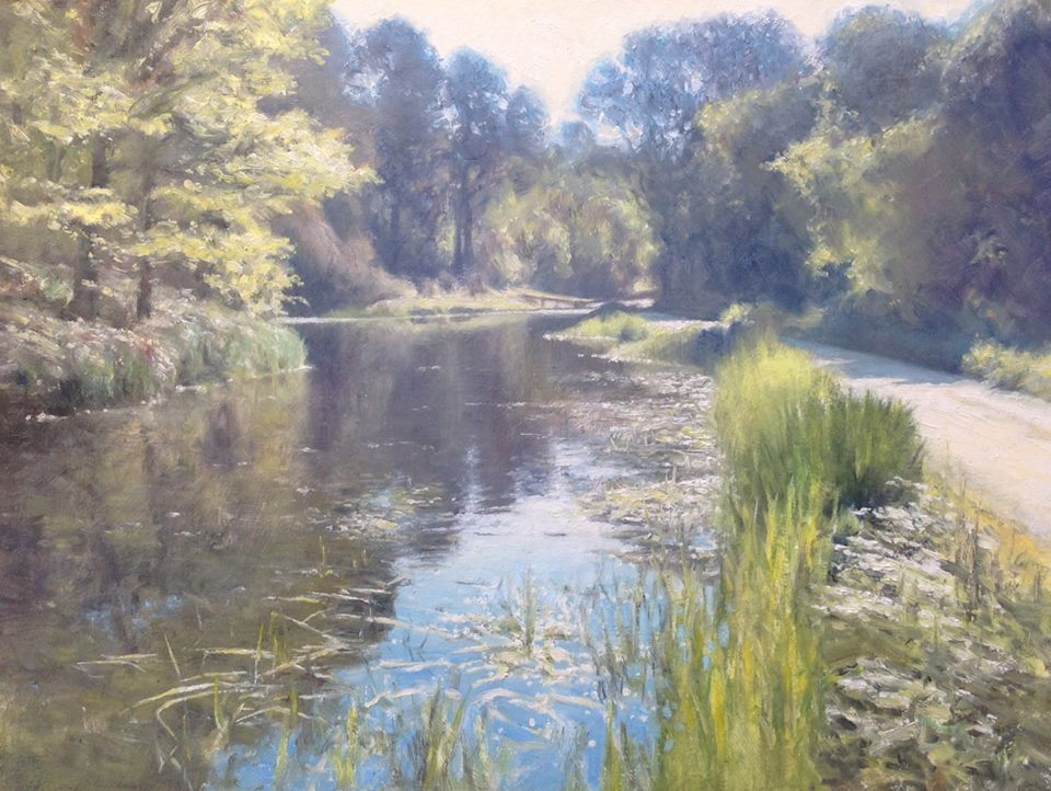 David Deamer - May Morning (oil)
