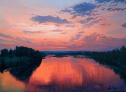 John Hulsey - On the River