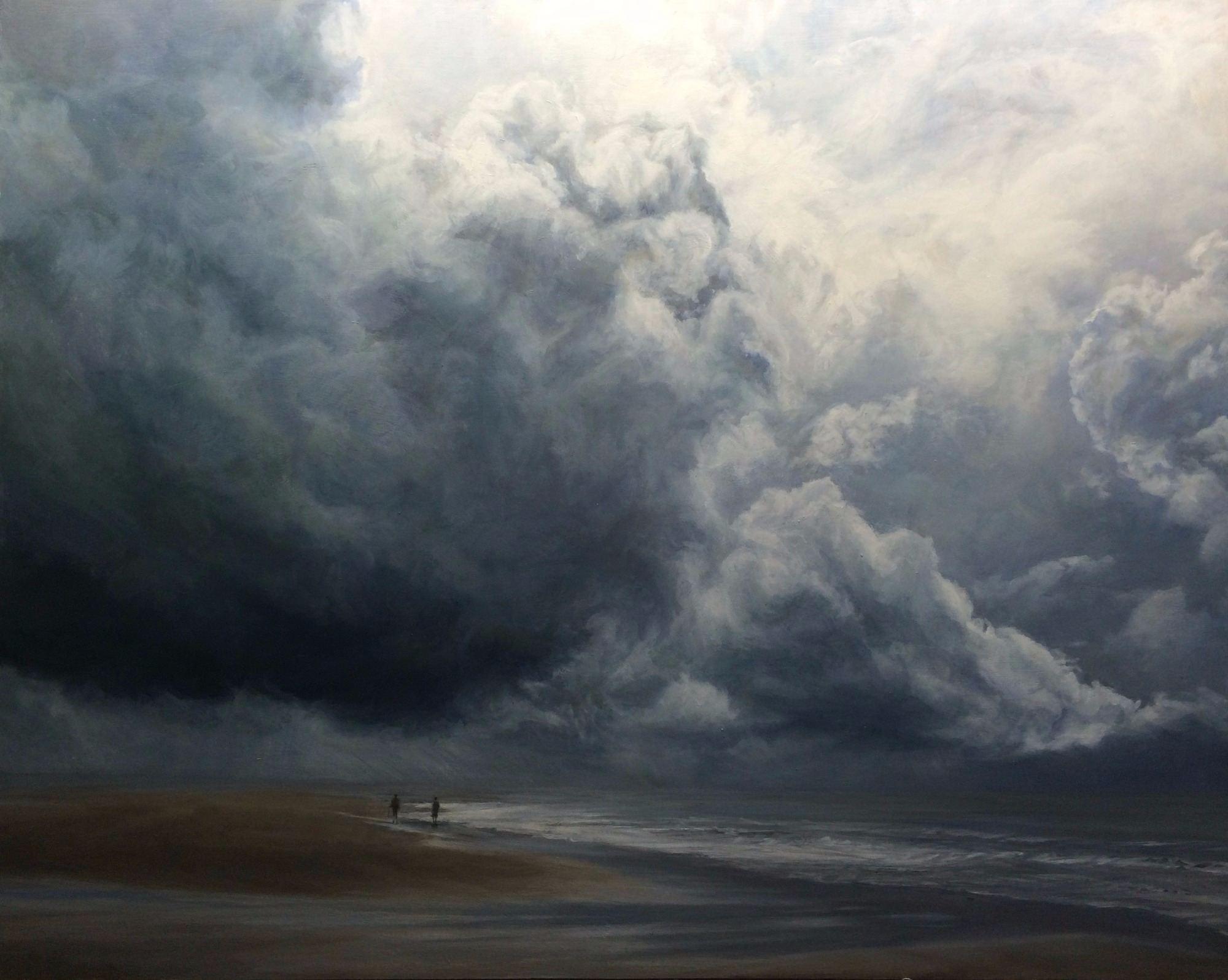 Sarah Spencer - Under the Clouds, Holkham