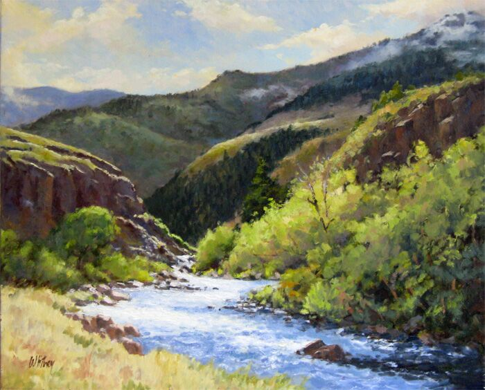 Steve Whitney - Late Morning Near Aspen