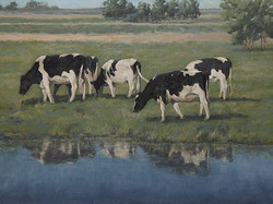 Pat Carney - Grazing at the Pond