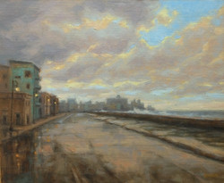 Janet Anderson - Evening Drama on the Malecon