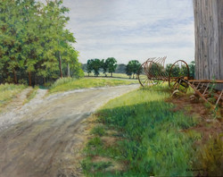 Bruce Foxworthy - The Old Windmil Frame At Long's Farm