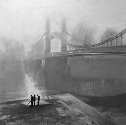 Richard Rosenblatt - Hammersmith Bridge, London