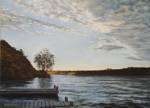 Marlene Wiedenbaum - Highland Landing Sunset