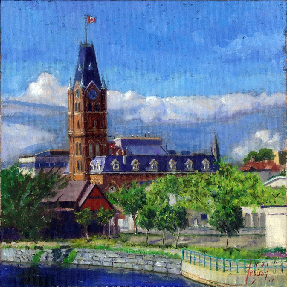 Jesus Estevez - City Hall View, Belleville