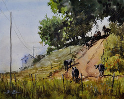 Brienne M Brown - Leading Them Home (watercolor)