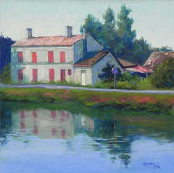 Jean Hirons - Late Day Light, Coulon