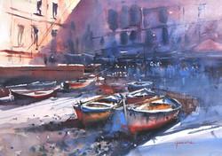 Michał Jasiewicz - Vernazza Boats