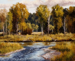 Janet Broussard - September On The Gros Ventre