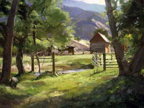 Howard Friedland - Springhill Morning