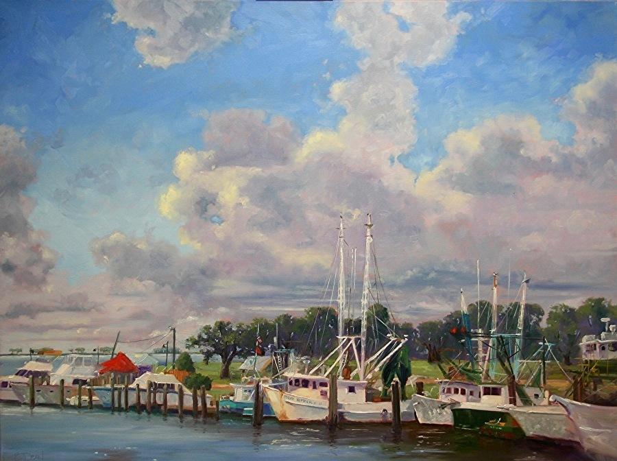 Beth Dean - Harbor Morning