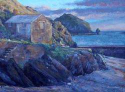 Andrew Barrowman - Evening at Mullion Cove