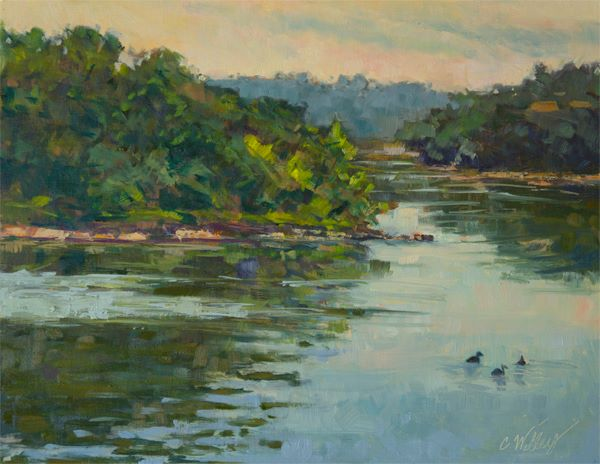 Chris Willey - Riss Lake Morning