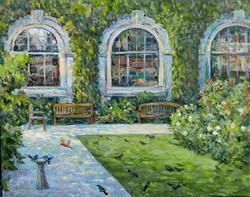 Irina A. Pisarenko - Garden at Harvard University