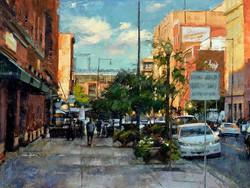 Desmond O'Hagan - Sunlit, Wazee Street, Denver