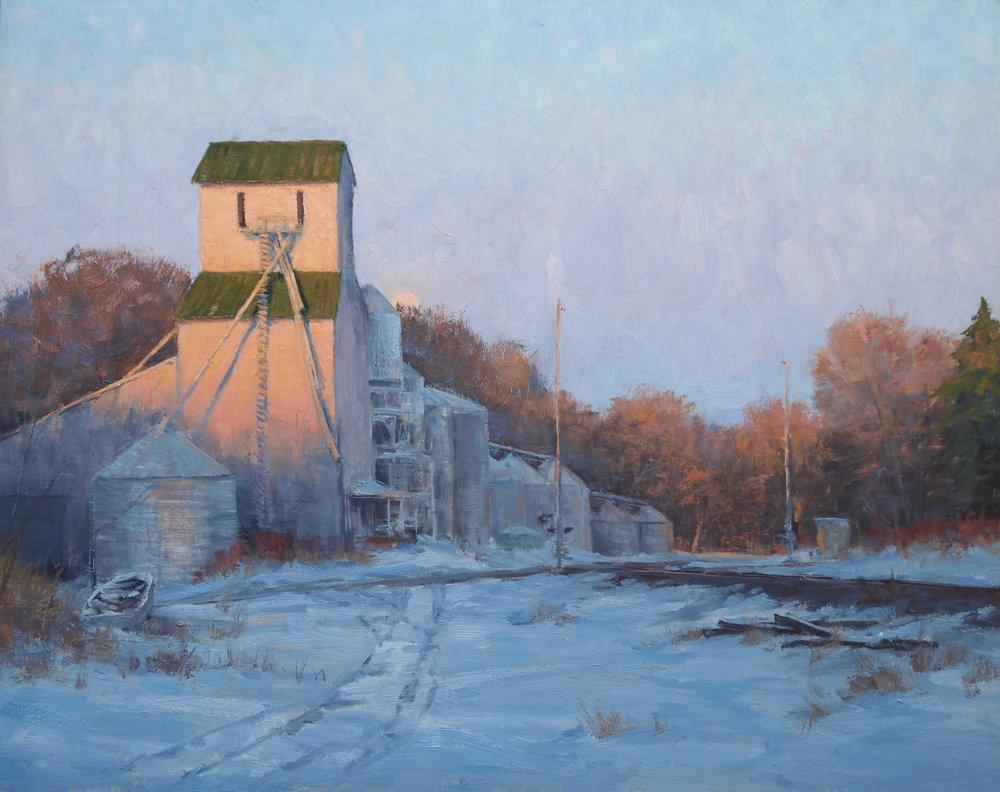 Joshua Cunningham - Evening Along the Line