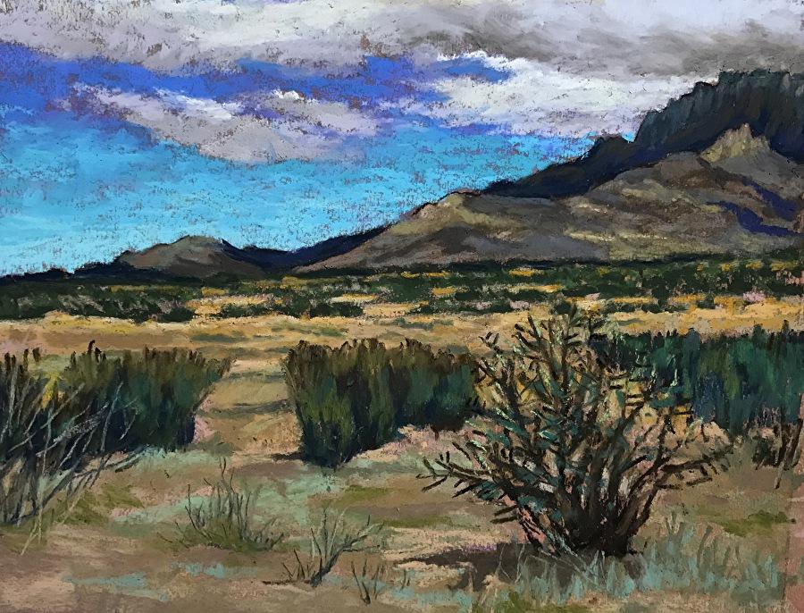 Mike Etie - New Mexico Sky