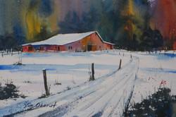 Jim Oberst - Winter Farm