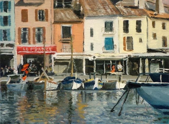 Daniel Fishback - Boats of Cassis