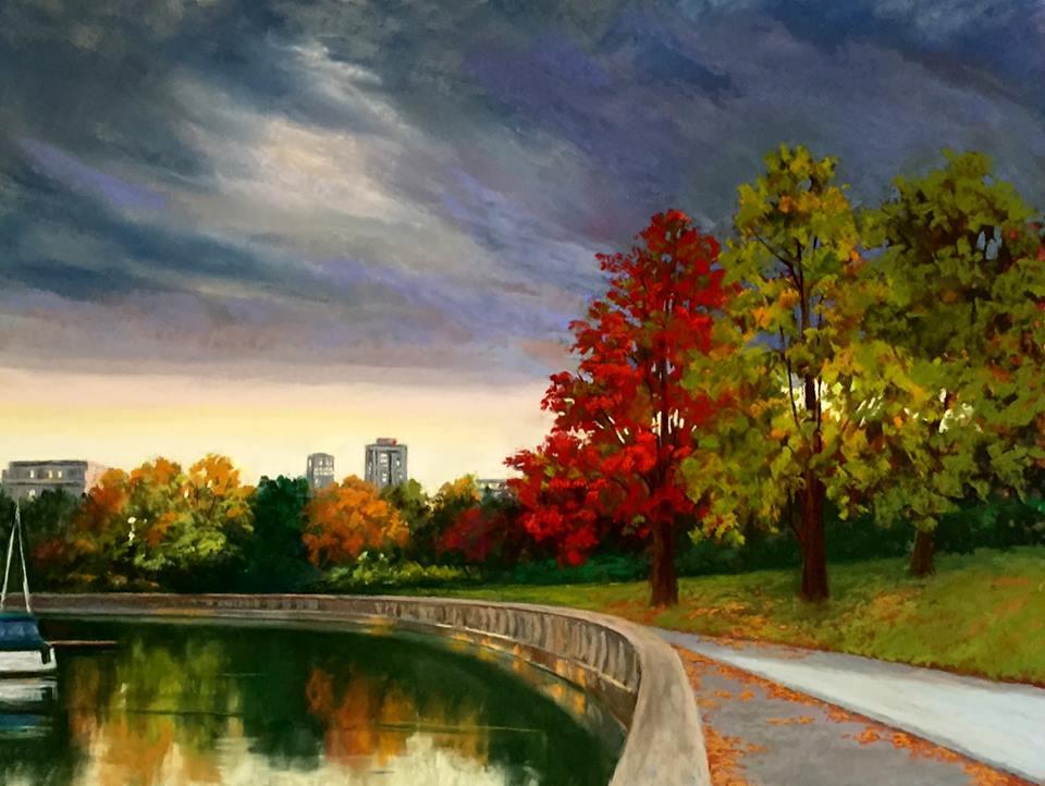 Candi Ferguson - Sunset at Stanley Park