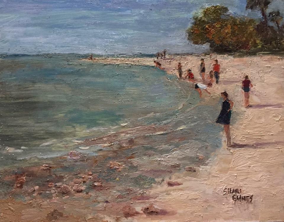 Shari Gaines - Shelling at Honeymoon Island