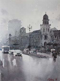 Matt White - The Plaza After the Rain