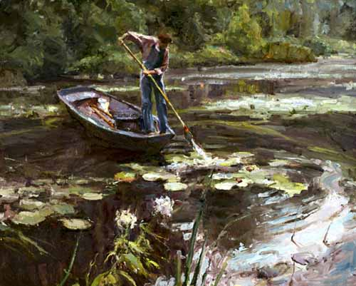 Howard Friedland - Morning in Giverny