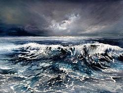 Gaye Clear - Storm Surge (watercolor)