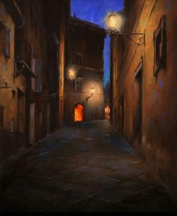 Gavin Glakas - Backstreets of Siena