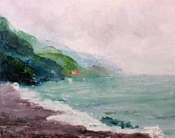 Karla Nolan - Misty Sky at Cinque Terre