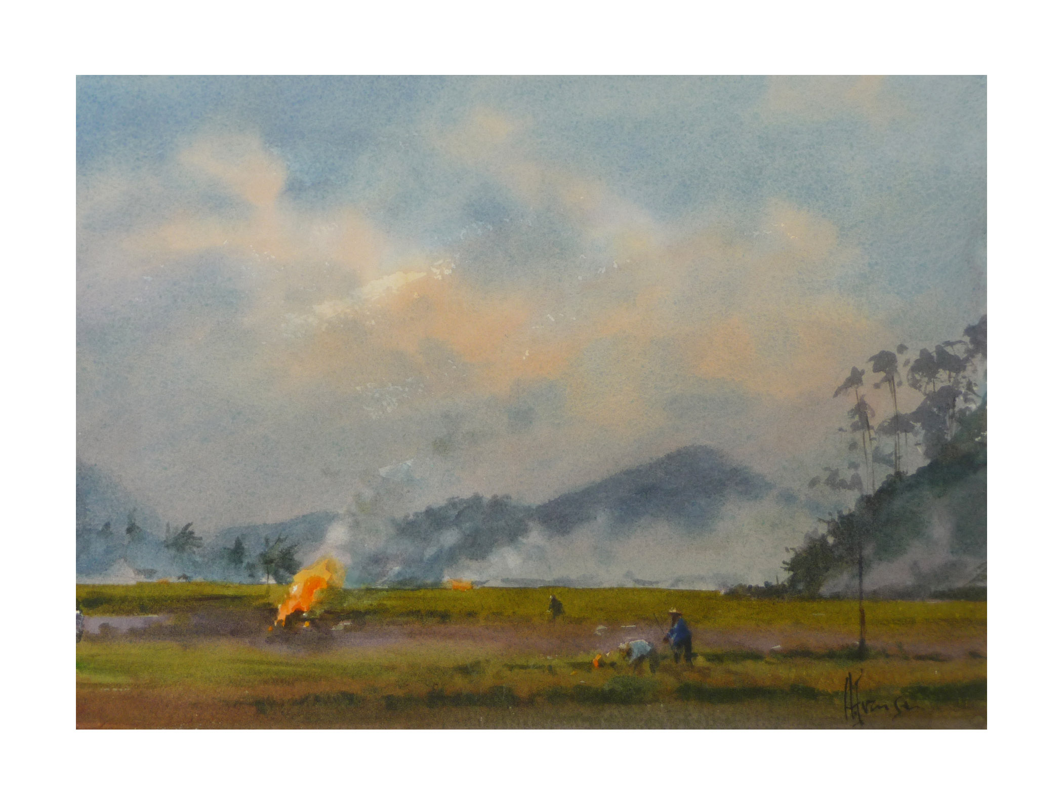 Andy Evansen - Burning the Fields, China